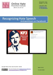 "Click to download  ""Recognizing Hate Speech: Antisemitism on Facebook"" (3.5MB)"